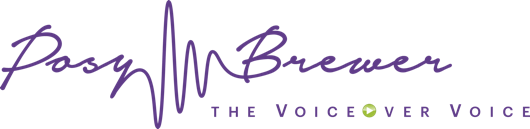 Posy Brewer british female voiceover artistlogo