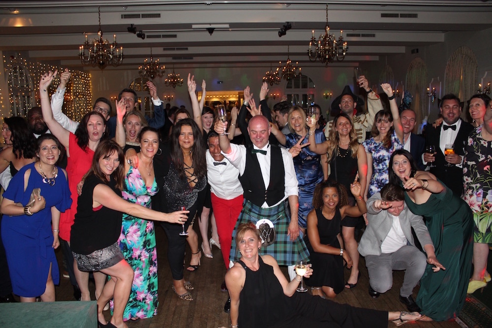 UK voiceover artists awards party