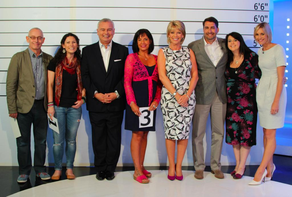 ITV photo of well known UK voice over artists