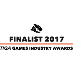 TIGA voice over for games awards finalist award 2017