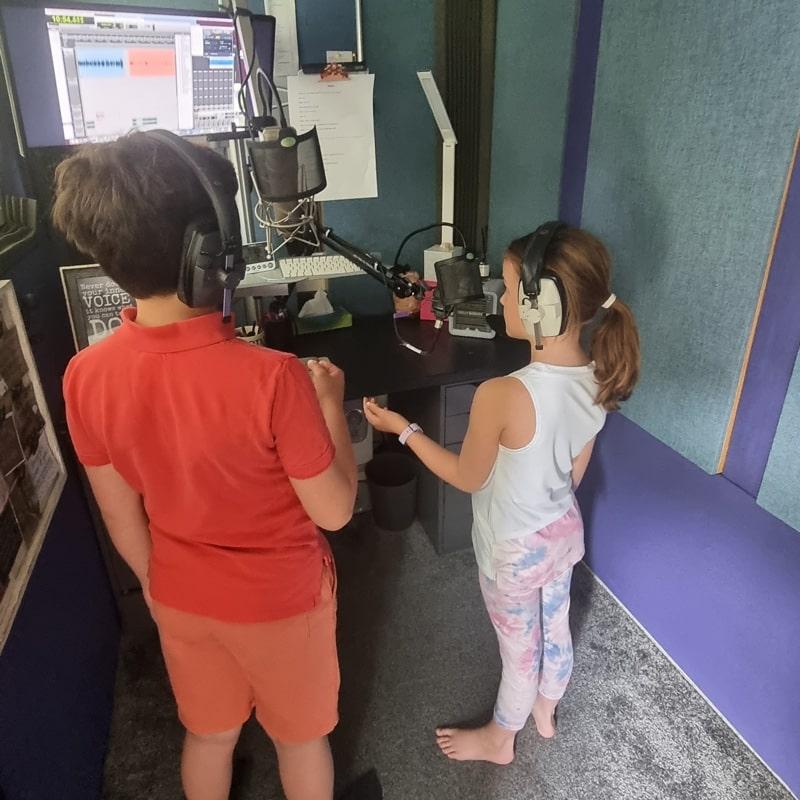 kids voiceover artist