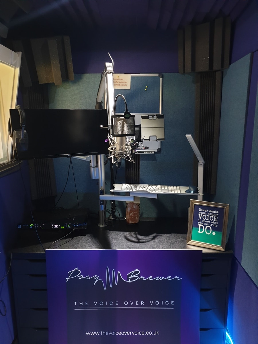 surrey recording studio the voiceover voice for hire